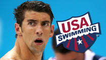 Michael Phelps -- Meaningless Suspension From USA Swimming