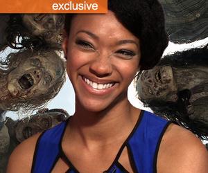 """Walking Dead"" Star Sonequa Martin-Green: I'm Still Trying to be a ""Badass""…"