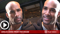 Boris Kodjoe -- Genetic Perfection ... He Just Won't Admit It
