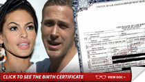 Ryan Gosling and Eva Mendes -- Baby's Name Revealed ... Inspired By Her Own Movie?