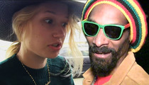 Iggy Azalea -- FUMING MAD ... Over Snoop Dogg Insta Slam