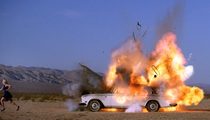 Tyler Shields -- Blows Up Vintage Rolls-Royce for Art's Sake (VIDEO)