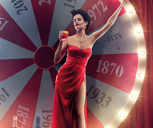 Eva Green Flashes A Lotta Leg for Campari's 2015 Calendar