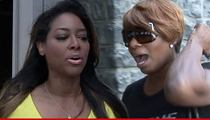 Kenya Moore -- NeNe Needs To Check Herself ... Then Cut Me A Check