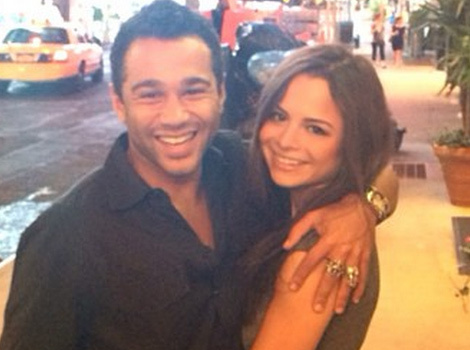 """HSM"" Star Corbin Bleu Engaged To Actress Sasha Clements -- See The Ring"