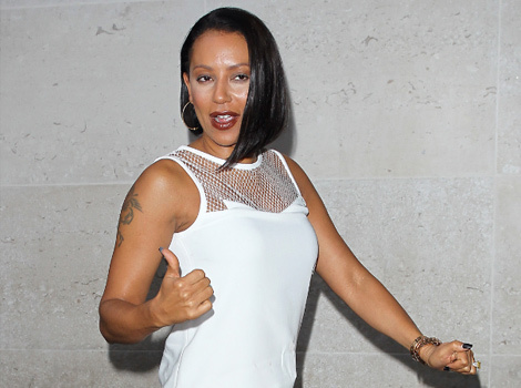 Mel B Suffers Major Makeup Malfunction At BBC Radio!