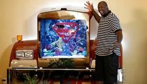 Shaquille O'Neal -- Even My Fish Are Diesel ... Shows Off 'Super' Aquarium