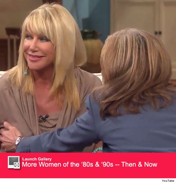 Merideth shows tits on the view
