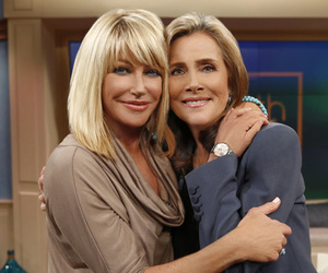 Suzanne Somers Shows Off Hot Bikini Bod, Gets Groped by Meredith Vieira