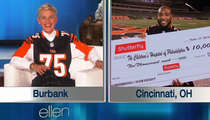 Ellen DeGeneres -- $10K DONATION TO DEVON STILL