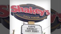 Katy Perry -- Cheesy B-Day Wish Comes True