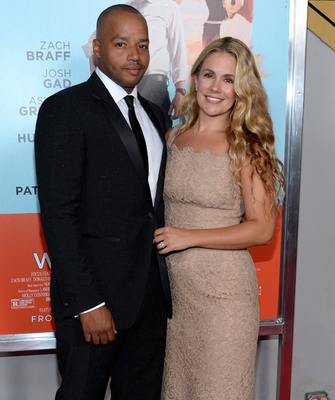 when did donald faison and cacee cobb start dating