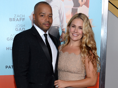 CaCee Cobb and Donald Faison Expecting Second Child -- See Cute Announcement!