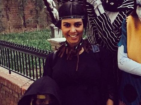 Kourtney Kardashian Visits Disneyland With Mason -- See Their Cute Costumes!
