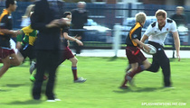 Prince Harry -- Royal Person Plays Rugby With Normies