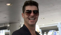Robin Thicke -- Hal-HO-ween Without Paula Patton