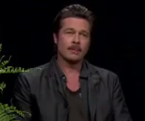 "Brad Pitt Fields Angelina Jolie, ""Friends"" Questions from Zach Galifianakis --…"