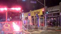 Kat Von D -- Tattoo Shop Burning