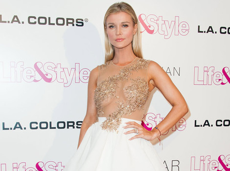 Joanna Krupa Goes Braless at Life & Style 10 Year Anniversary Party