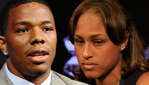 Ray Rice & Janay -- We're Praying for the Jerks ... Mocking Us for Halloween