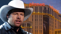 Toby Keith Offered Sweet Vegas Deal ... But Not Quite JLo $$$