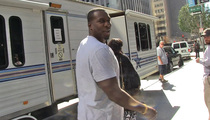 NFL Star Antonio Gates -- Shoots TV Show Cameo ... On Day Off