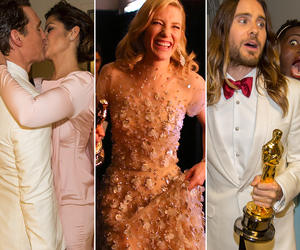Academy Awards Candids: What You Didn't See on TV!