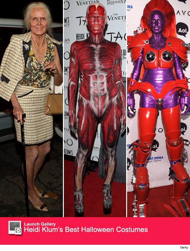 Consider, that Heidi klum body paint halloween regret