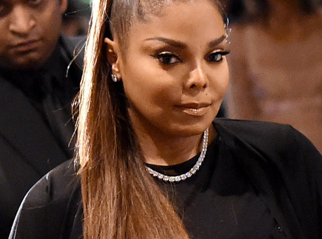 Janet Jackson Makes First Public Appearance In Over a Year