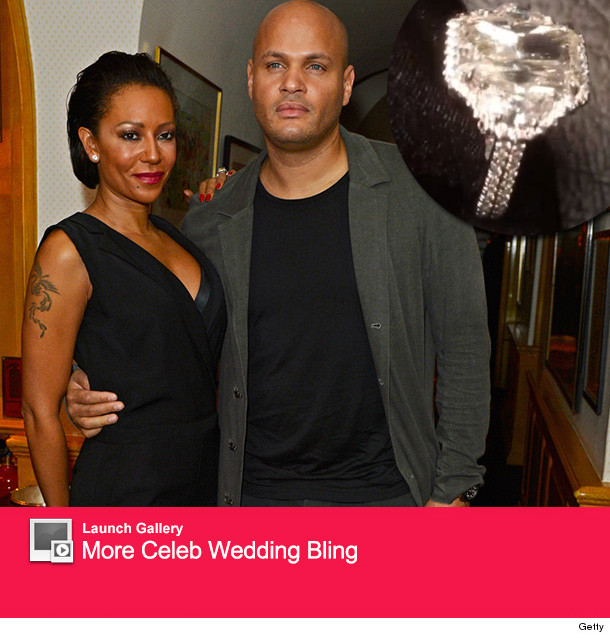Mel B Gets Wedding Ring Upgrade See Stunning New Sparkler