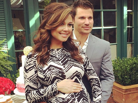 Vanessa and Nick Lachey Celebrate at Their Baby Shower -- See the Pics!