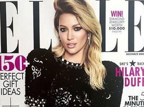 "Hilary Duff Talks Aaron Carter's ""Soulmate"" Comments: ""It's Time To Move On"""