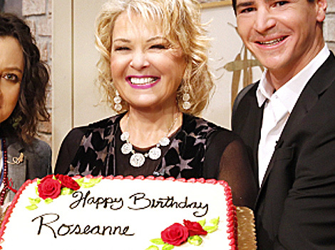 """Roseanne"" Reunion! Rosanne Barr Surprised By TV Kids on ""The Talk"""