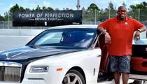 Warren Sapp -- Flirting with Rolls-Royce ... After Bankruptcy Case