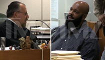 Suge Knight Surrenders on Robbery Charges to Sympathetic Judge