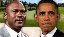 President Barack Obama -- Hey Michael Jordan ... THIS Is How You Talk Trash
