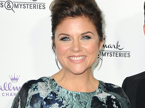 """90210"" Reunion! Tiffani Thiessen and Luke Perry Hit the Red Carpet Together"