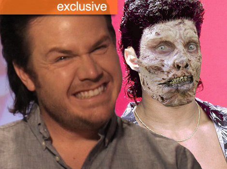 """The Walking Dead"" Star Josh McDermitt Takes the Mullet Challenge"