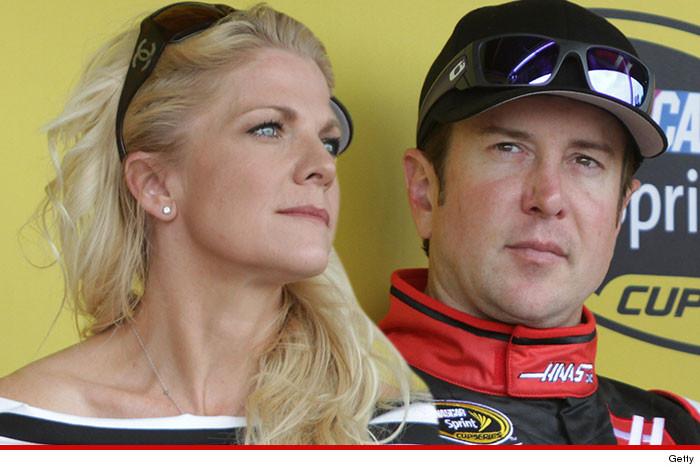 NASCARs Kurt Busch claims ex-girlfriend is a trained