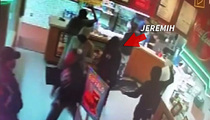 R & B Star Jeremih -- VIDEO of Beer Brawl at Fuddruckers