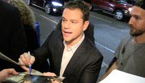Matt Damon -- I've Seen Ben Affleck's Wiener