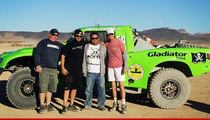 Bruce Jenner -- Putting His Balls On the Line, But Not His Pesos in Baja Race