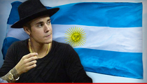 Justin Bieber -- Get Your Culo Back to Argentina ... for Bodyguard Attack Case