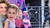 Miley Cyrus & Patrick Schwarzenegger -- Country Meets Camelot
