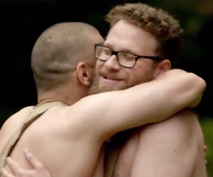"James Franco and Seth Rogen Get ""Naked and Afraid"" -- Watch the Video!"