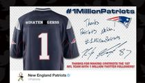 New England Patriots -- Apologize For Racist Auto-Tweet ... Our Bad