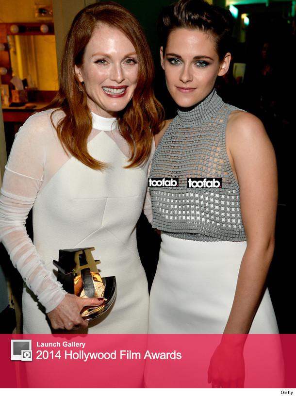 Kristen Stewart Has Double Nip Slip At 2014 Hollywood Film Awards