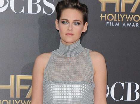 Kristen Stewart Has Double Nip Slip at 2014 Hollywood Film Awards -- And Is Johnny Depp…