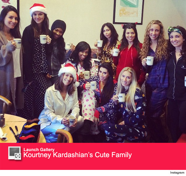 Kourtney Kardashian Celebrates Second Baby Shower With Pajama Party