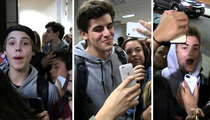 Jack & Jack -- Upstaged By Matthew Espinosa During Airport Fan Crush (VIDEO)